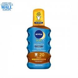 Слънцезащитно олио за активиране на тена SPF20 NIVEA Sun Protect & Bronze   NIVEA