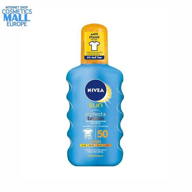 NIVEA Sun Protect & Bronze SPF50 | NIVEA
