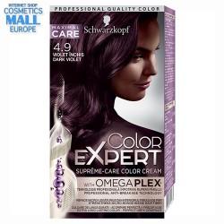 4-9 тъмно виолетов / Schwarzkopf Color Expert боя за коса