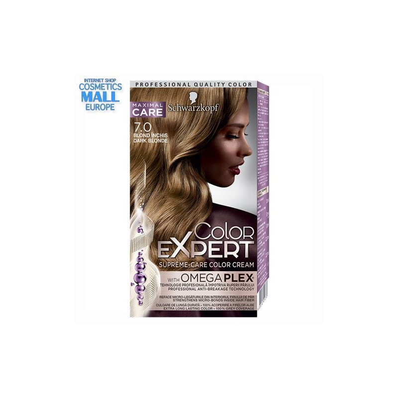 7-0 Dark Blonde | Schwarzkopf Color Expert hair color