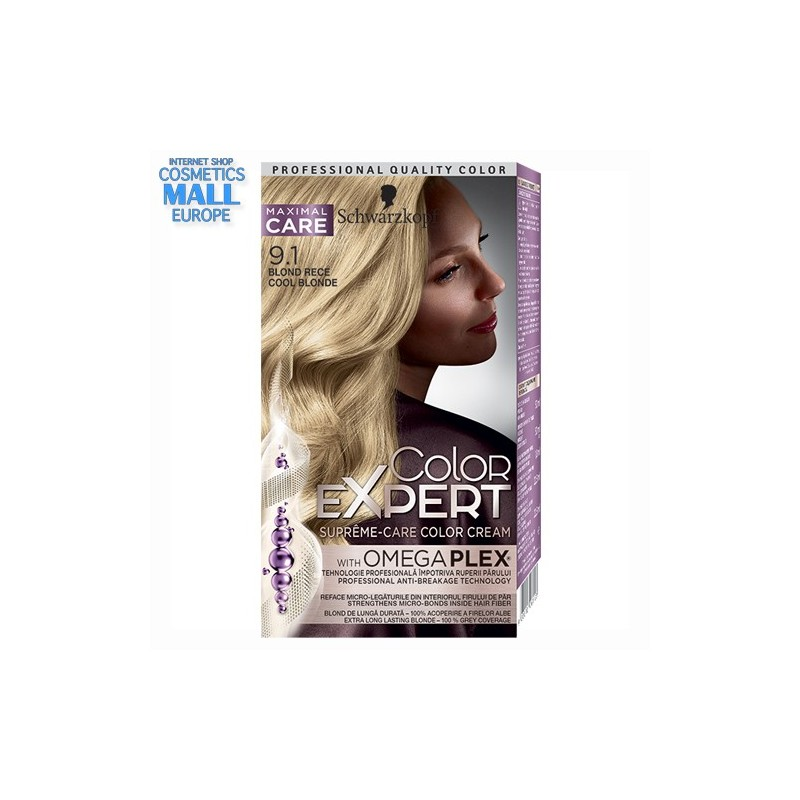 9-1 Cool Blonde | Schwarzkopf Color Expert hair color
