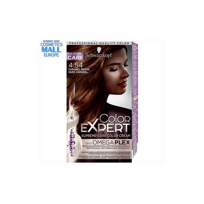 4-54 Dark Caramel | Schwarzkopf Color Expert hair color
