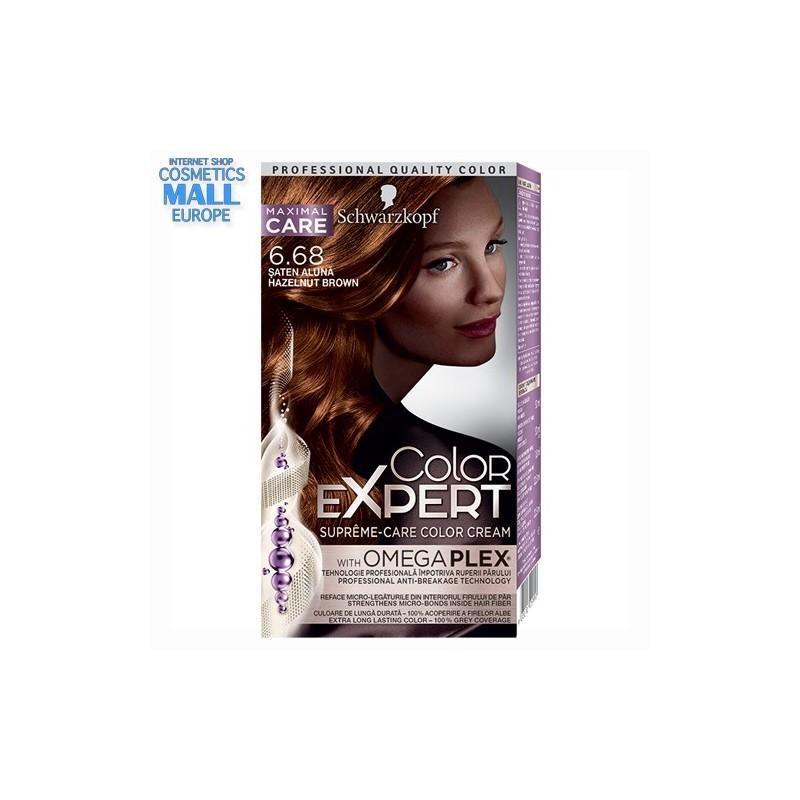 6-68 Hazelnut Brown | Schwarzkopf Color Expert hair color