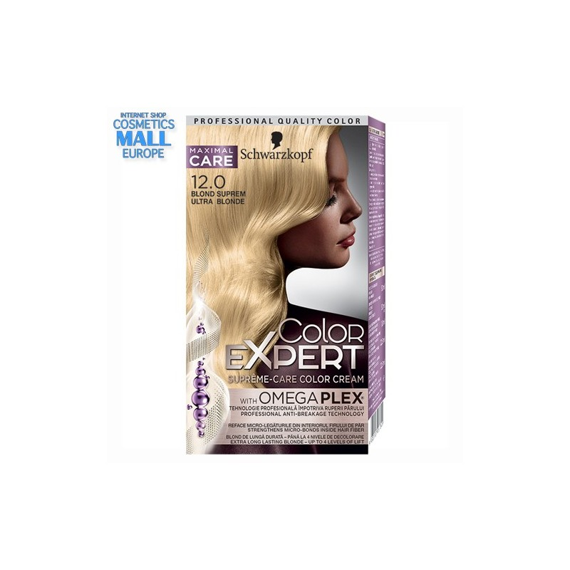 12-0 Ultra Blonde | Schwarzkopf Color Expert hair color