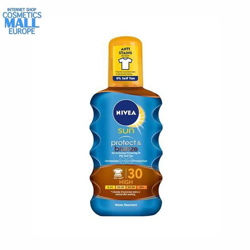 NIVEA Sun Protect & Bronze Oil Spray SPF30 | NIVEA