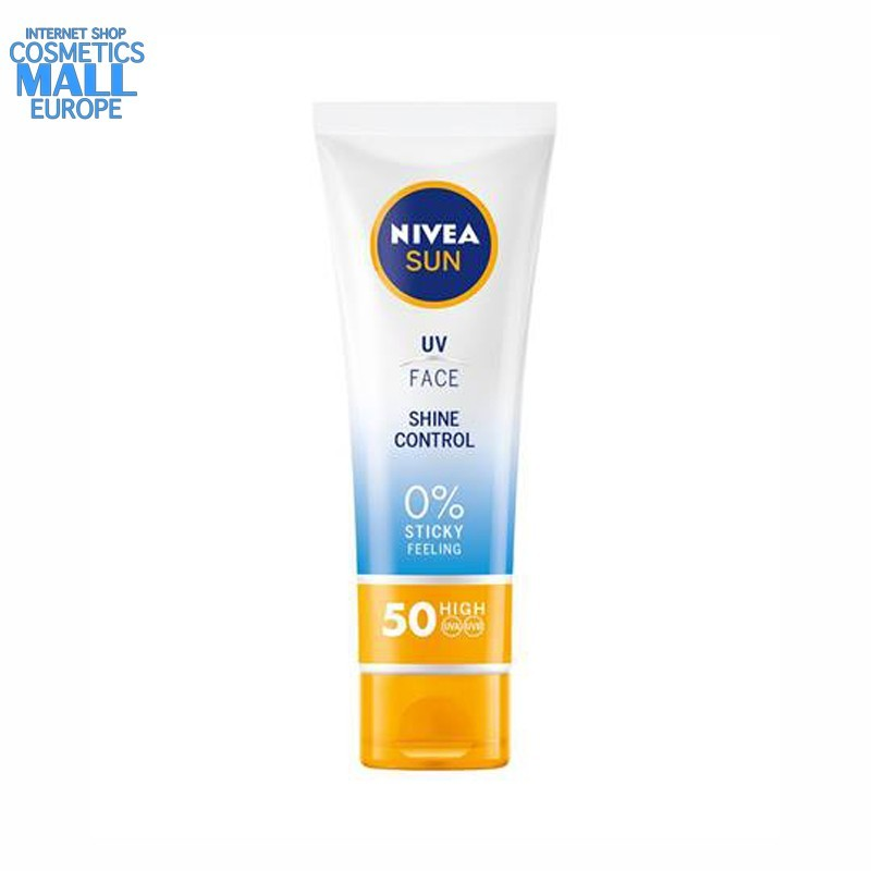 UV Face Shine Control SPF50 cream NIVEA Sun tube