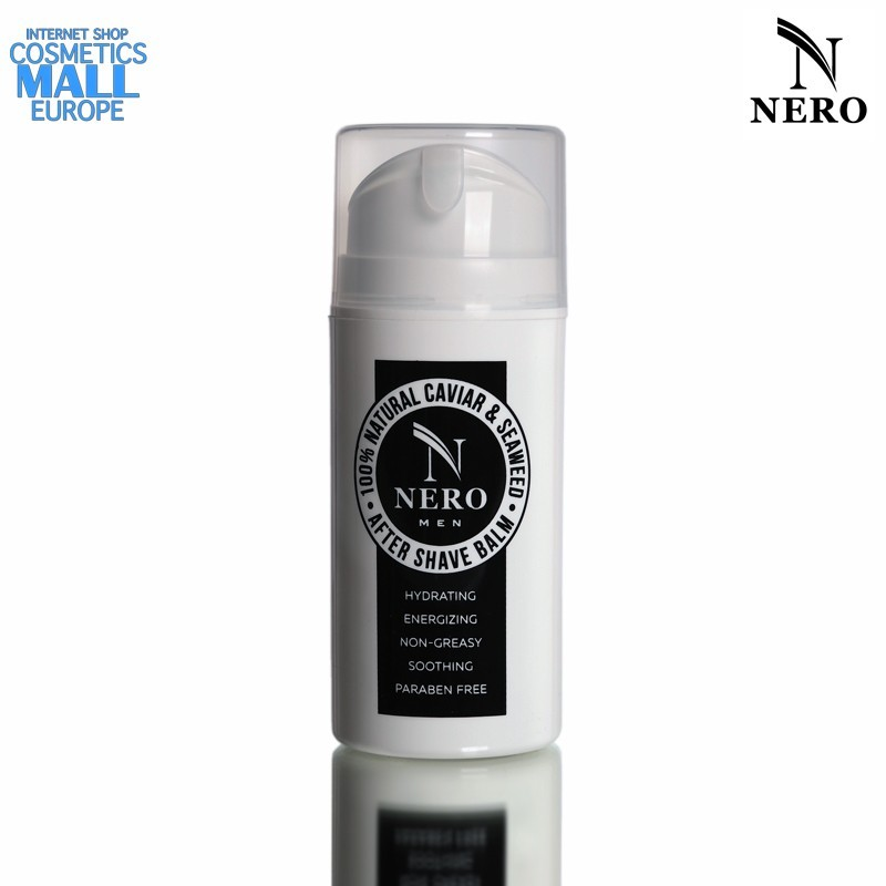 100% Natural men's  after shave balm with caviar and seaweed NERO Naturale