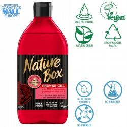 душ гел със студено пресовано масло от нар NATURE BOX