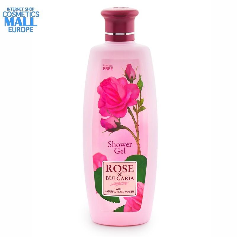 SHOWER GEL ROSE OF BULGARIA for ladies | BIOFRESH