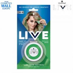 зелен тебешир за коса LIVE...