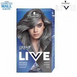 U72 Dusty Silver, цвят пепелно сребро, крем-боя за коса с металически оттенък LIVE Urban Metallic