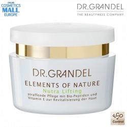 Стягащ и ревитализиращ крем за лице Elements of Nature / Nutra Lifting | Dr.Grandel