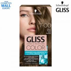 7-00 Тъмно рус цвят, боя за коса GLISS COLOR Care & Moisture