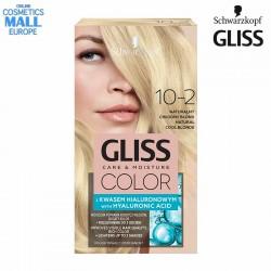 10-2 Естествено хладно рус цвят, боя за коса GLISS COLOR Care & Moisture
