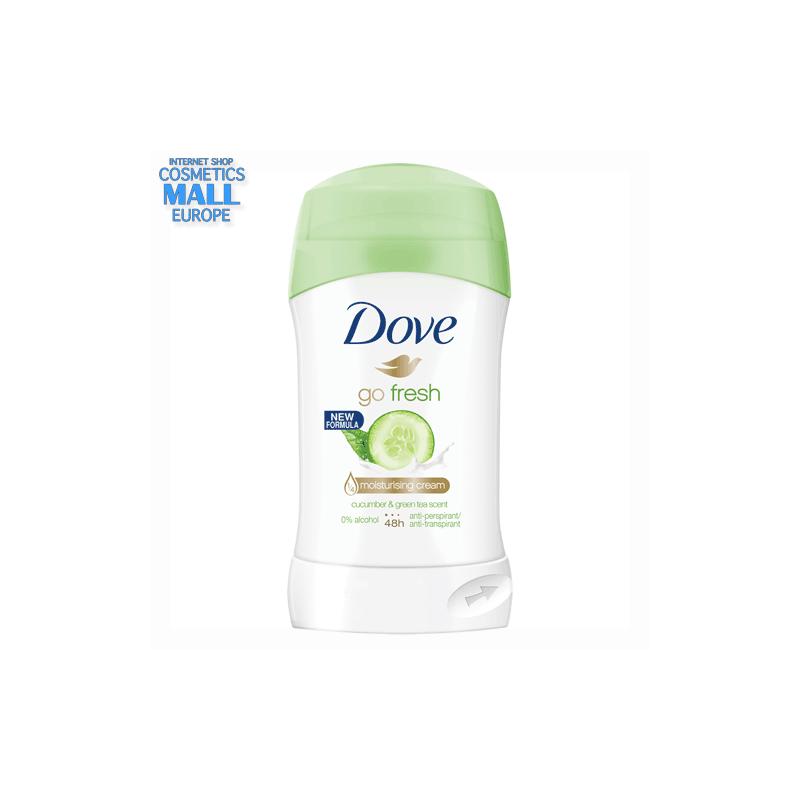 DOVE Fresh Touch краставица  стик за жени против изпотяване с хидратиращ крем ДАВ