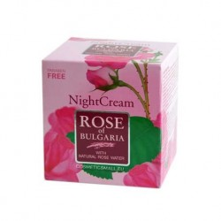 Night cream Rose of Bulgaria | BIOFRESH Cosmetics