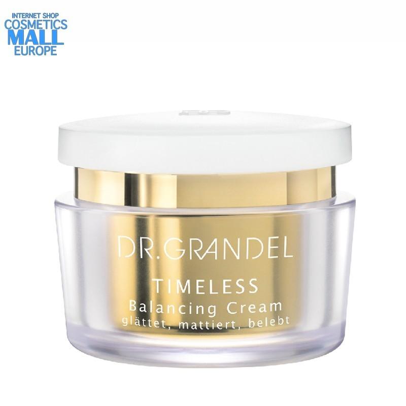 анти ейдж балансиращ крем нормална към суха кожа TIMELESS от Dr.Grandel бурканче