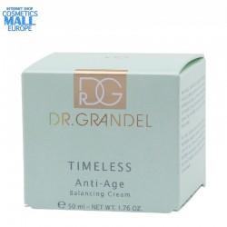 анти ейдж балансиращ крем нормална към суха кожа TIMELESS от Dr.Grandel, кутия