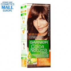 Garnier Color Naturals цвят 5.52 Светло кестеняв махагон трайна боя за коса | Garnier Color Naturals