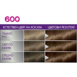 Perfect Mousse боя за коса цвят 600 Светло кафяв, оттенъци