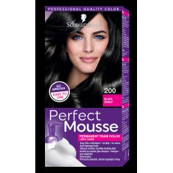 Perfect Mousse боя за коса цвят 200 Черен