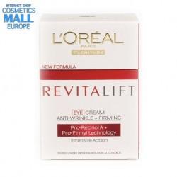 Стягащ околоочен крем против бръчки Revitalift | L'Oreal Paris, кутия