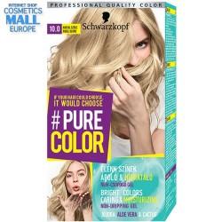 Schwarzkopf Pure Color цвят 10.0 Ангелски рус, дълготрайна гел-боя за коса