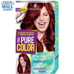 цвят 6.88 Малиново червен, дълготрайна гел-боя за коса Schwarzkopf Pure Color