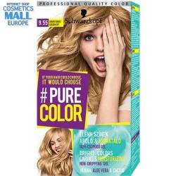 цвят 9.55 Златно небе, дълготрайна гел-боя за коса Schwarzkopf Pure Color