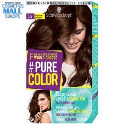 цвят 5.5 Златно шоко, дълготрайна гел-боя за коса Schwarzkopf Pure Color