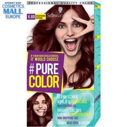 цвят 6.80 Розово брауни, дълготрайна гел-боя за коса Schwarzkopf Pure Color