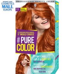 Schwarzkopf Pure Color цвят 7.7 светла канела, дълготрайна гел-боя за коса