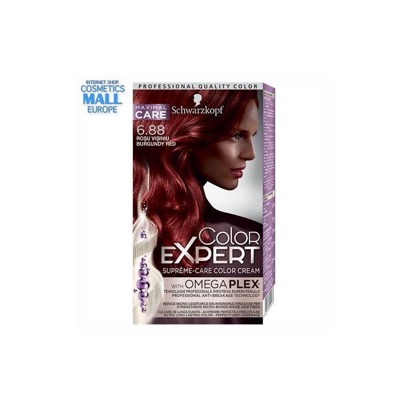 COLOR EXPERT 6-88 бургундско червено | Schwarzkopf Color Expert боя за коса