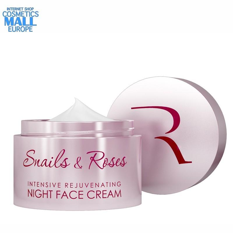 Интензивен нощен крем с екстракт от охлюви и розово масло Revive Snails & Roses | Natural Garden_I