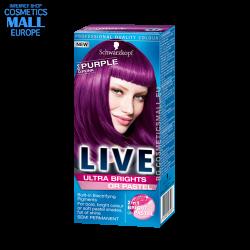 LIVE боя за коса, цвят...