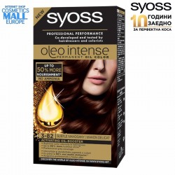 3-82 Subtle Mahogany Hair Color Dye, SYOSS Oleo Intense