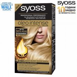 9-60 цвят пясъчно рус боя за коса SYOSS Oleo Intense
