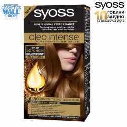 6-80 лешниково рус цвят, боя за коса SYOSS Oleo Intense