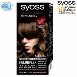 5-8 лешниково кафяв цвят, SYOSS Color перманентна боя за коса