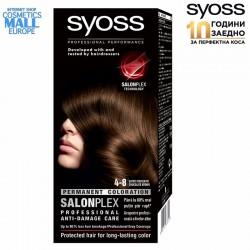 4-8 шоколадово кафяв цвят, SYOSS Color перманентна боя за коса