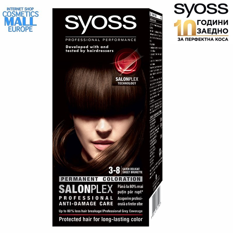 3-8 Sweet Brunette, SYOSS Color