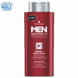 шампоан при косопад и тънка коса, MEN Deep Effect 3 | Schwarzkopf