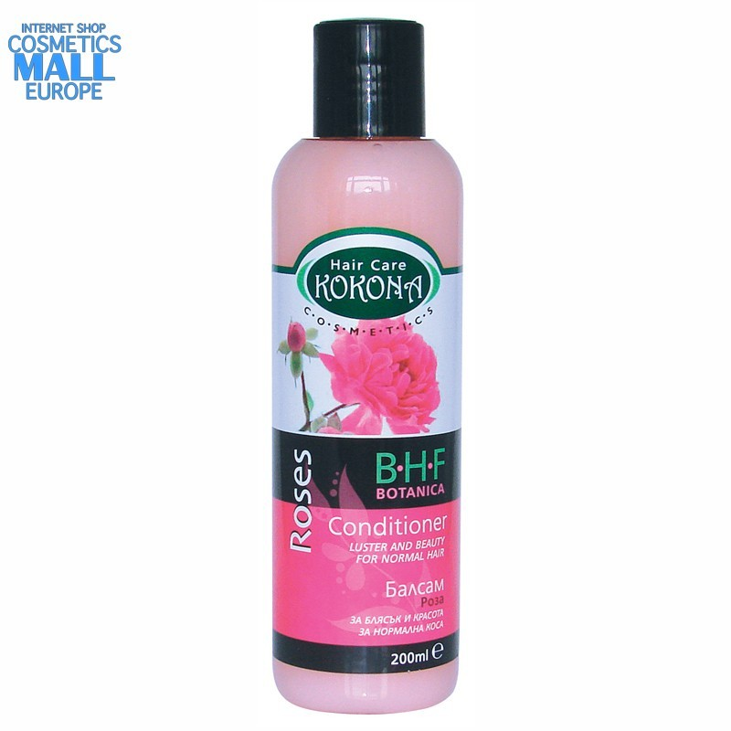 hair conditioner Rose for Normal hair, B.H.F. BOTANICA | Kokona Cosmetics