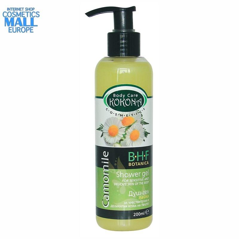 Camomile shower gel, B.H.F. BOTANICA | Kokona Cosmetics