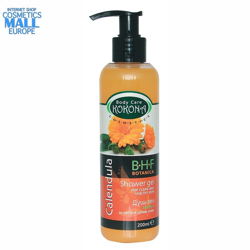 Calendula shower gel, B.H.F. BOTANICA | Kokona Cosmetics