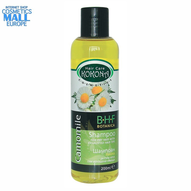 Camomile hair shampoo BOTANICA B.H.F | Kokona cosmetics