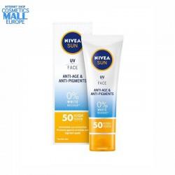 Anti-Age & Anti-Pigment SPF 50 face cream NIVEA Sun, box