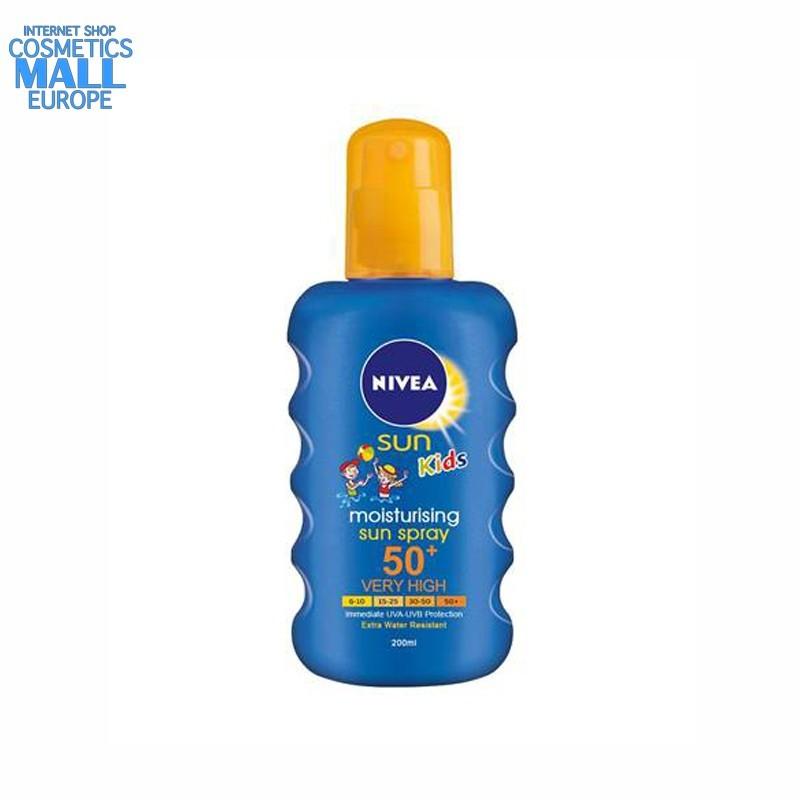 Moisturising Sun spray SPF50+ NIVEA Kids | NIVEA