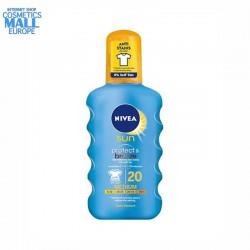 Слънцезащитен спрей SPF20 с ефект на бронзов тен NIVEA SUN Protect & Bronze | NIVEA