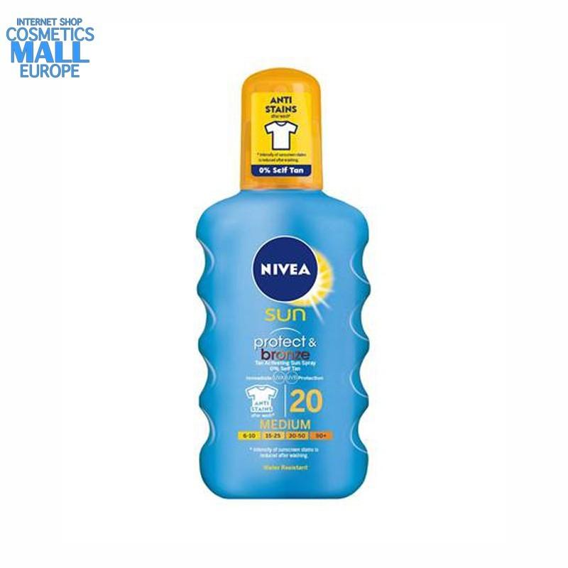 NIVEA Sun Protect & Bronze SPF20 Spray | NIVEA